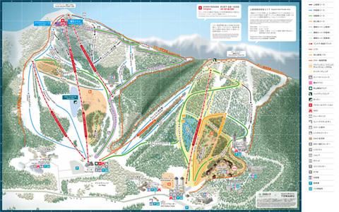 北海道星野度假村地图