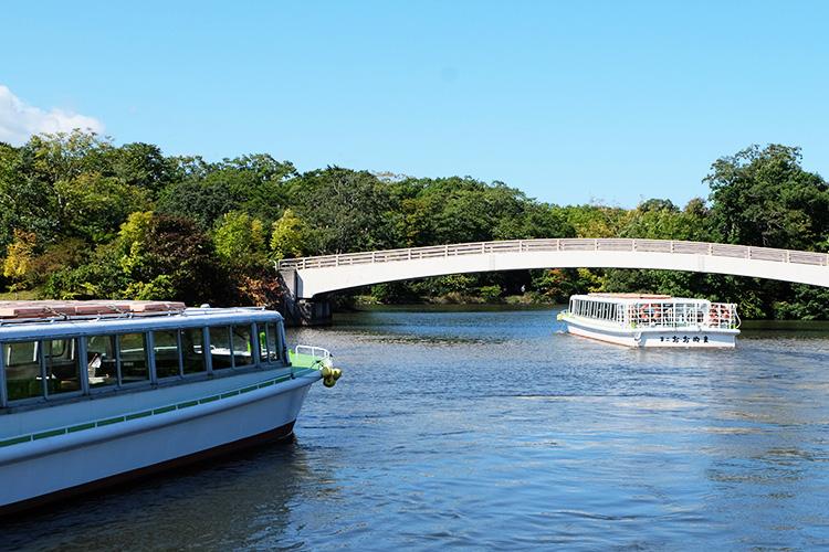 大沼公園 遊覽船
