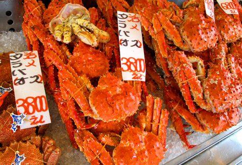 二條市場 帝王蟹